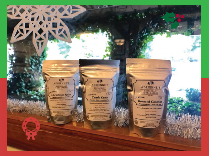 Adriennes Tea Room organic teas